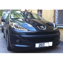 Faros Peugeot 207 07-13 C/lupa Y Leds Precio X Par