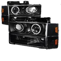 Faros Negros Para Gmc Pickup C10 1988 - 1993