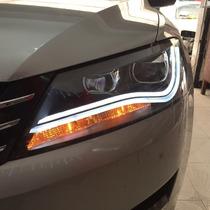 Faros Passat Led Vw B7 Tipo Audi Xenon Luz De Dia