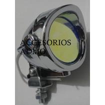 Mini Faros Nuevo Modelo Auto O Moto Mica Tornasol Tuning