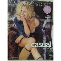 Victorias Secret Catalogo 2004 Karolina Kurkova Casual Fall