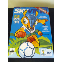 Revista Sky View Guía Mundial Futbol Brasil 2014 Sede Datos
