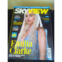 Revista Sky View Game Thrones Emilia Killers Cm Punk Wwe Oz