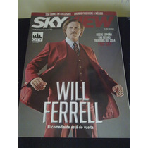 Revista Sky View Will Ferrell Arcade Fire Tom Hanks X-men
