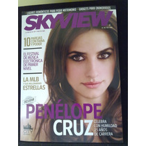 Revista Sky View Penelope Cruz Deadpool Rock Sinfónico