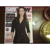 Revista Sky View Katie Holmes Mila Kunis Aerosmith J Carrey