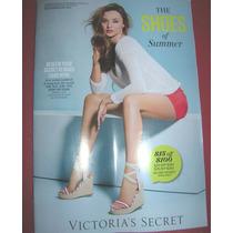 Victorias Secret Sexy Catalogo 2013 Zapatos Wedge Sandalias