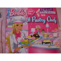 Barbie Libro Doble Cupcakes A Pastry Chef Y A Lifeguard