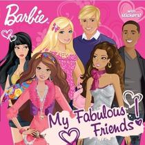 Barbie Libro De Cuento My Fabulous Friends Con Calcamonias