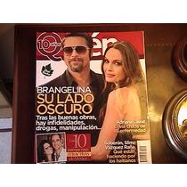 Brad Pitt Y Angelina Jolie En La Revista Quién