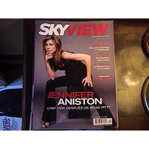 Revista Sky View Jennifer Aniston, Nicholas Cage Feb 2006