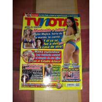 Revista Tv Notas Portada Barbara Mori Poster Rebeca Rubio