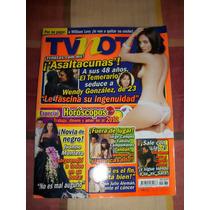 Revista Tv Notas Portada Ivonne Montero Especial Horoscopos