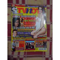 Revista Tv Notas Portada Pablo Montero Poster Marlene Favela