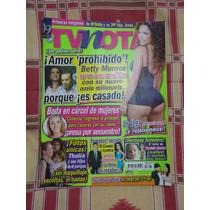 Revista Tv Notas Portada Thalia Poster Liz Vega