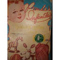 Revista De Tejido Prendas Infantiles ( 1969 )