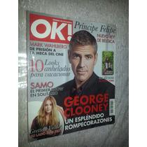 George Clooney Mark Wahlberg Grettell Valdez Revista Ok 2007