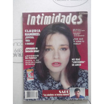 Intimidades,revista De Febrero De 1990,claudia Ramirez