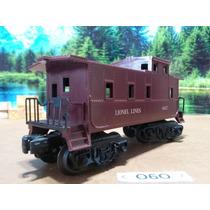 O6o Trenes Escala O Lionel Vagon Caboose Lionel Lines 6037
