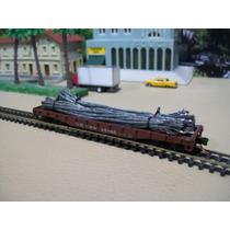 Trenes Escala N 1/160 Vagon Plataforma Carga Varilla 45865 B