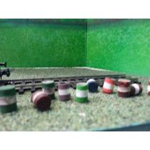 Tren Barriles Tambos De Tipo Acero Ho Arquitectura Trenes Js