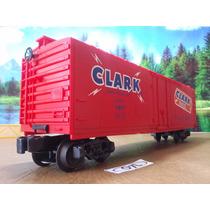 O7l Trenes Escala O Vagon De Carga Lionel Clark 9809 $400