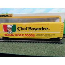 Tren Bachmann Vagon Box Car Chef Boyardee Pasta Ho Trenes Js