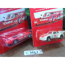 H5j Trenes Escala Ho Autos Hartoy Coca-cola X Pza. O Por Set