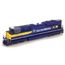 Locomotora Athearn Genesis Sd70-m De Emd Escala Ho