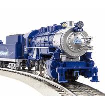 Tren Lionel Frosty Polar Locomotor Vagon Vias Control Juguet