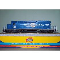 Locomotora Athearn Sd40-2 De Mr&t Escala Ho.