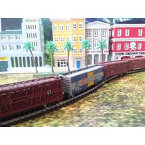 Trenes Escala N 1/160 Set 4 Vagones De Carga Con-cor