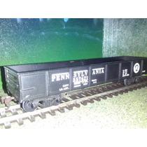 Tren Vagon Gondola Negro Pennsylvania Ho Maqueta Trenes Js