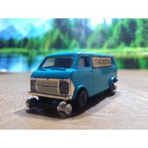 Trenes Escala Ho Vehiculo Bachmann Ford Van P/reparar $250