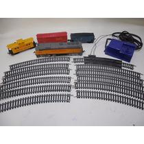 Set Tren Vagon Vias Electrica Escala Ho Life Like F189