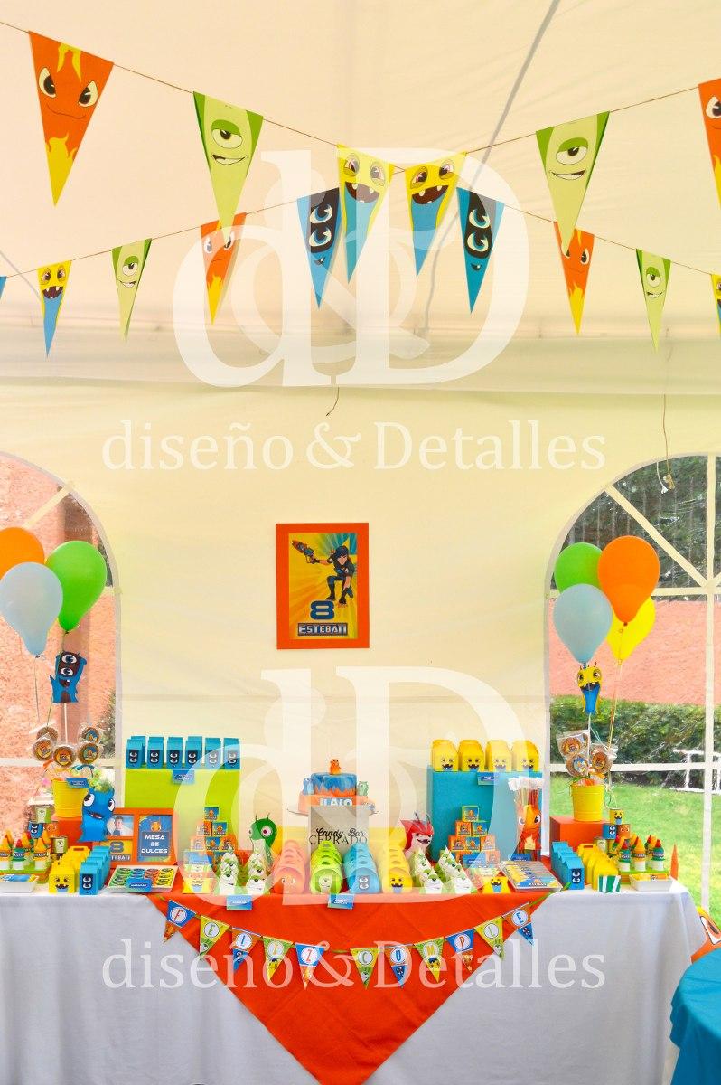 Fiesta tem tica mesa de dulces infantil bajoterra 120 - Fiesta infantil tematica ...