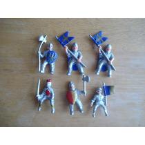 6 Mini Soldados Medievales Miden 4 Cms En 120.00 Todos