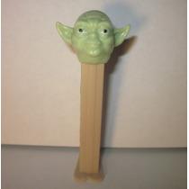 Star Wars Yoda Pez Dispensador De Dulces Vintage Lcdc