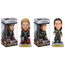 Figuras Cabezones Thor Y Loki Wobbler Bobble Heads Funko