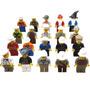 Set De 20 Figuras Compatibles Con Lego Profesiones Y Oficios