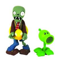 Plantas Vs Zombies Coleccionables Ducky Tube Y Peashooter