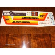 Jeep James Bond 007 Calcomanias Big Jim Cipsa Kid Acero
