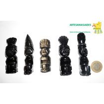 Idolos Azteca - Obsidiana Dorada