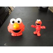 Elmo Lote De Figuras Coleccionables Plaza Sésamo