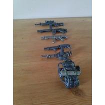 Armas A Escala Para Figuras De Soldados O Otras Figuras