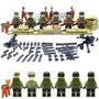 Soldados Segunda Guerra Mundial Nomandi Compatibles Con Lego