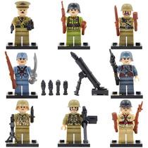 Soldados Segunda Guerra Mundial Compatibles Con Lego