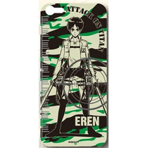 Sticker Eren Attack On Titan - Iphone5/5s Shingeki No Kyojin