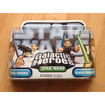 Star Wars Galactic Heroes Padme Amidala Y Anakin Skywalker