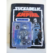Suckadelic Bootleg Empire Sucklord 600 Art Toy Boba Fett